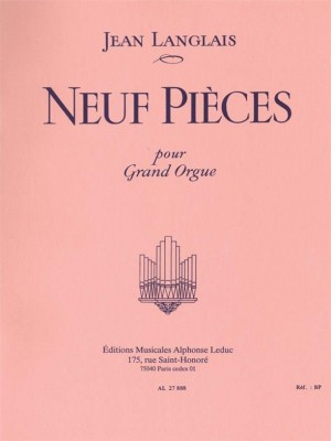 Jean Langlais: 9 Pieces Product Image