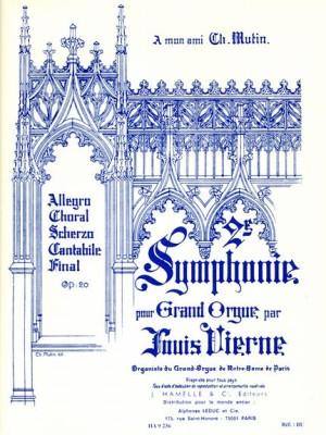 Louis Vierne: Symphonie N02 Op20