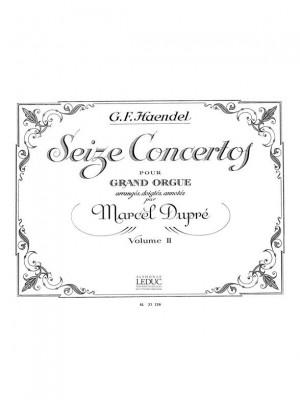 Georg Friedrich Händel: 16 Concertos for Organ Product Image
