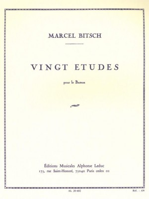 Marcel Bitsch: Twenty studies