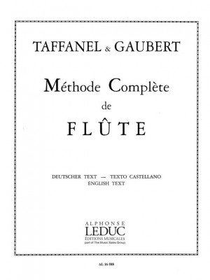 Paul Taffanel_Philippe Gaubert: Complete Flute Method (Flute)