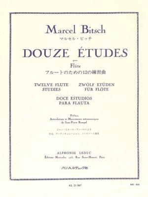 Marcel Bitsch: 12 Etudes