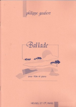 Philippe Gaubert: Ballade for Flute and Piano Product Image