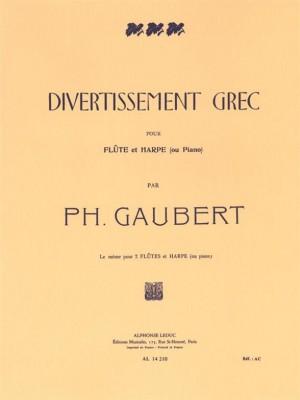 Philippe Gaubert: Divertissement Grec Product Image