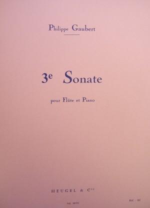Philippe Gaubert: Sonata N. 3