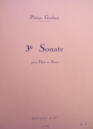 Philippe Gaubert: Sonata N. 3 Product Image