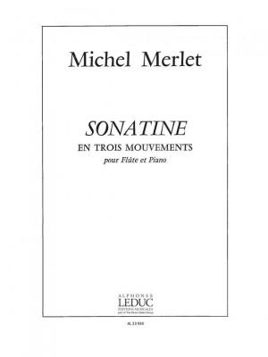 Michel Merlet: Sonatine En 3 Mouvements
