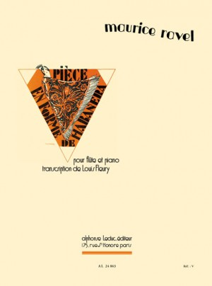 Maurice Ravel: Pièce En Forme De Habanera