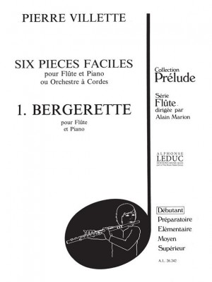 Villette: 6 Pieces Faciles N01 Bergerette