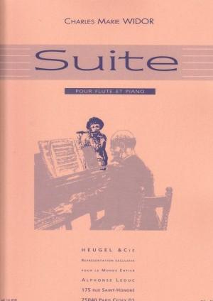 Charles Marie Widor: Suite pour flûte et piano, op. 34