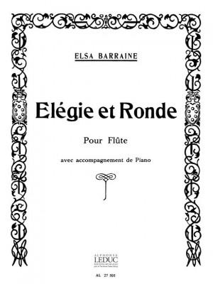 Barraine: Elegie Et Ronde