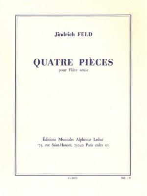 Jindrich Feld: 4 Pieces