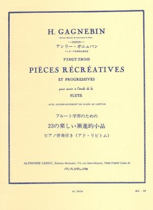 Gagnebin: Piece Recreatives(23)