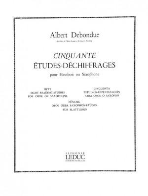 Albert Debondue: 50 Etudes-Déchiffrages