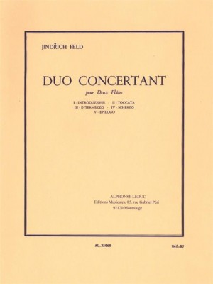 Jindrich Feld: Duo Concertant