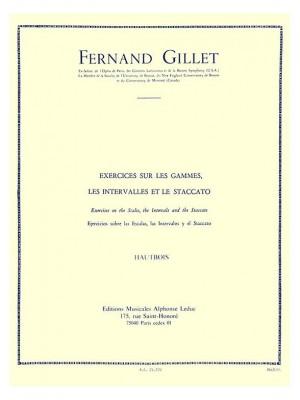 Ferdinand Gillet: Exerc. sur les Gammes, Intervalles et Staccato