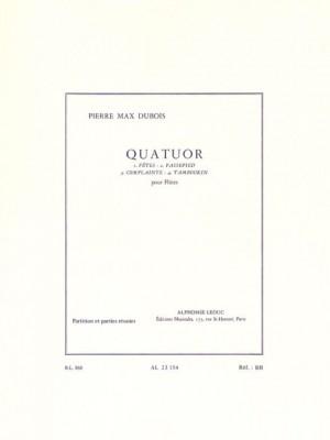 Pierre-Max Dubois: Quatuor Pour Flûtes
