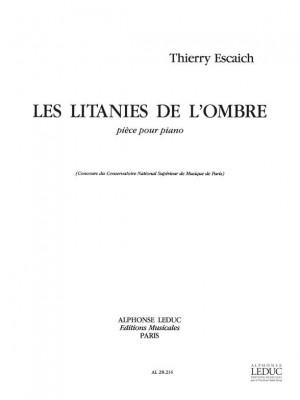 Thierry Escaich: Litanies De L'Ombre