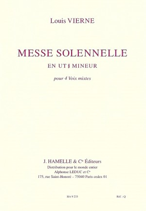 Louis Vierne: Messe Solennelle Ut Opus 16