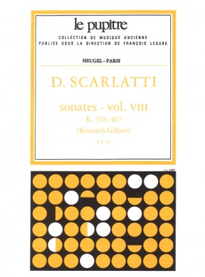 Domenico Scarlatti: Sonatas Vol. 8