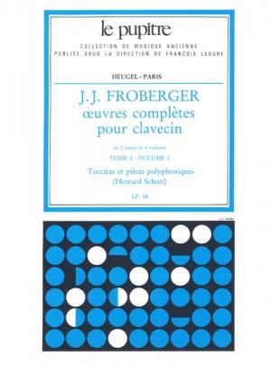 Johann Jakob Froberger: Oeuvres Complètes Pour Clavecin Book 2 Vol.1