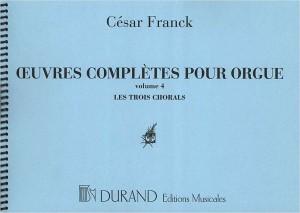 Franck: Organ Works Vol.4 (Original Edition)
