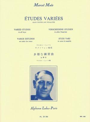 Marcel Mule: Etudes Variees