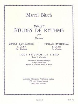 Bitsch: 12 Etudes De Rythme