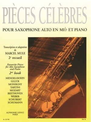 Marcel Mule: Famous Pieces For Alto Saxophone and Piano Vol. 2