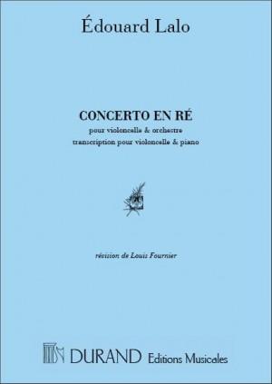 Lalo: Concerto in D minor (red. L.Fournier)