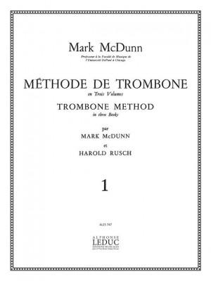 M McDunn: Methode de Trombone Vol.1