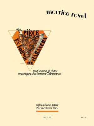 Maurice Ravel: Pièce En Forme De Habañera