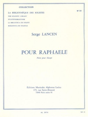 Serge Lancen: For Raphaele, for Harp