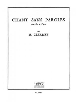 Robert Clerisse: Chant Sans Paroles