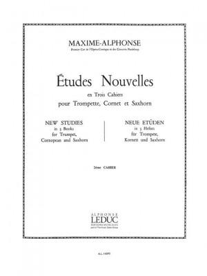 Maxime Alphonse: Etudes Nouvelles
