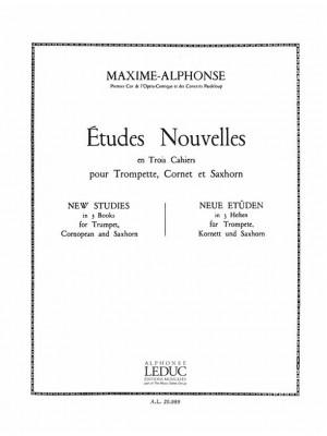 Maxime-Alphonse: Maxime-Alphonse: Etudes nouvelles Vol.3