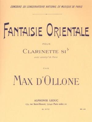 Max D' Ollone: Fantaisie orientale