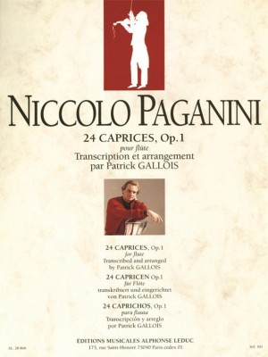 Niccolò Paganini: 24 Caprices Op.1