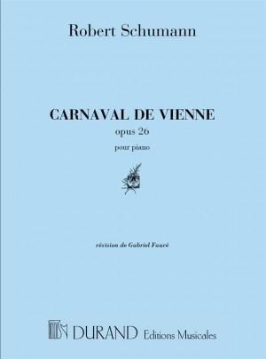 Schumann: Carnaval de Vienne Op.26