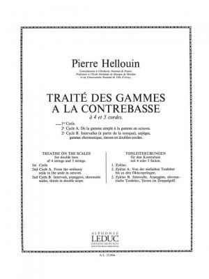 P. Hellouin: Traite des Gammes a la Contrebasse, Cycle 1