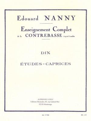 Nanny: 10 Etudes Caprices