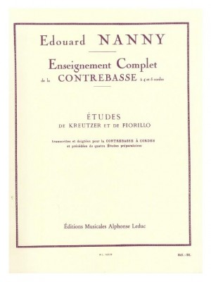 Edouard Nanny: Edouard Nanny: Etudes de Kreutzer et de Fiorillo