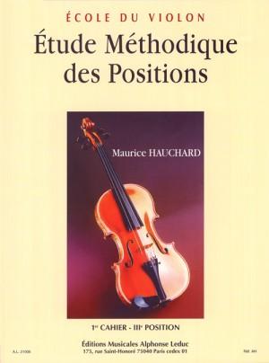 Maurice Hauchard: Etude Methodique Des Positions Vol 1