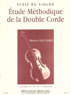 Maurice Hauchard: Methodic study of the double-string, 2nd