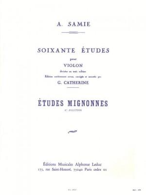 Samie: Etudes Mignonnes Op.31