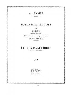 Samie: 60 Studies for Violin