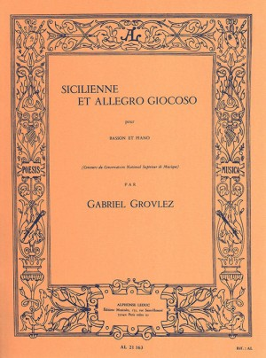 Gabriel Grovlez: Sicilienne and Allegro Giocoso
