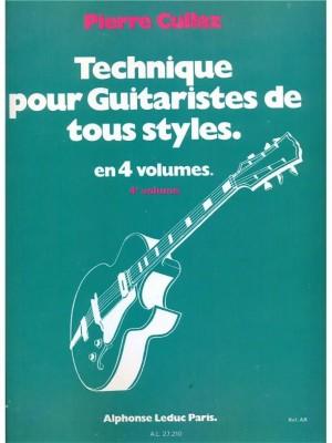 Cullaz: Technique pour guitaristes tous styles vol 4/4
