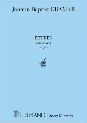 Cramer: Etudes Vol.3 (Durand)