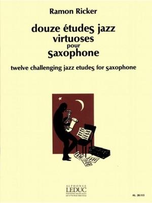 Ricker: Etudes Jazz Virtuoses